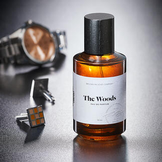 Das erste Herrenparfum der Brooklyn Soap Company: The Woods. Vom weltbekannten Parfümeur Mark Buxton kreiert – und doch noch ein Geheimtipp.