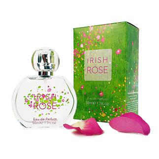Das Eau de Parfum mit dem wohl typischsten Rosenduft. Irish Rose (vorher Inis Arose) – 2003 nominiert für den FiFi-Award der Fragrance Foundation.