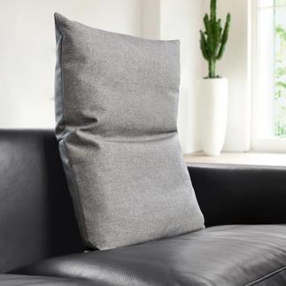 Bullfrog® Rückenkissen Macht moderne Sitzmöbel noch bequemer. Behaglich gepolstert, mit 16fach verstellbarem Kopfteil.