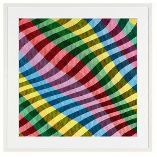 """Antonio Marra: """"Mir schwirrt der Pinsel"""" Erstmals kann ein Kunstwerk Antonio Marras als limitierte Edition aufgelegt werden. Außergewöhnliche Dreidimensionalität und Mehransichtigkeit."""