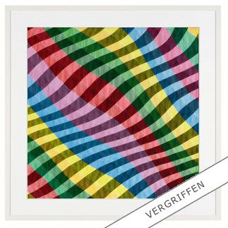 Antonio Marra – Mir schwirrt der Pinsel Erstmals kann ein Kunstwerk Antonio Marras als limitierte Edition aufgelegt werden. Außergewöhnliche Dreidimensionalität und Mehransichtigkeit.