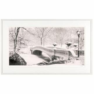 Koshi Takagi – Central Park Fotorealistische Bleistiftzeichnung mit über 1 Million handgemalten Strichen. Die zweite Edition Koshi Takagis (die erste ist bereits ausverkauft). Maße: 125 x 65 cm