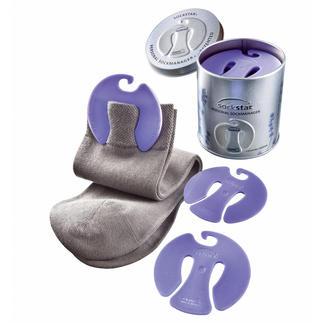"""Sockensammler """"sockstar®"""" Lavendel Cleverer Sammler hält Socken in der Wäsche paarweise zusammen. Mit frischem Lavendelduft."""