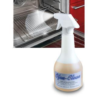 """""""Ofen-Clean"""" Endlich auch für zu Hause: der Backofenreiniger der Profis."""