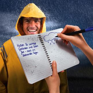 """""""Rite in the Rain""""® Wasserfestes Spiralheft, 2er-Set Sogar im Schneesturm, bei Regenwetter, ...dieses Papier hält Ihre Notizen fest – immer. Ohne Spezialstift."""