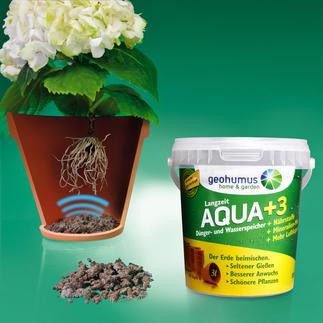 Geohumus® Speichert das bis zu 40fache seines Gewichts an Wasser – und lässt Ihre Pflanzen prachtvoll gedeihen.