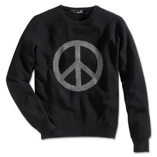 Love Moschino Peace-Pullover Origineller Hingucker und cooles Modebekenntnis zugleich: der Peace-Pullover von Love Moschino, Mailand.