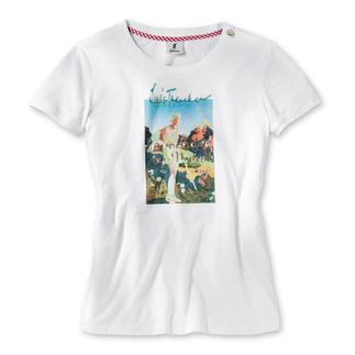 Luis Trenker Print-Shirt Blickfang-Print macht das Basic-Shirt zum heimlichen Star.