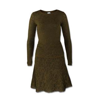 M Missoni Spitzen-Strick-Pullover oder -Rock Gestrickte Spitze. Modisches Oliv. Missoni setzt die Trends meisterlich um.