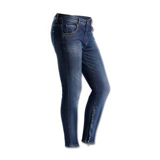 "Liu Jo Relaxed-Skinny ""Bow"" Jeans mit Bling: Keiner beherrscht den neuen Trend besser als Liu Jo."