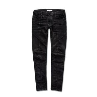 Pierre Balmain Skinny Biker-Pants Top-Trend und genau der Stil von Balmain: Skinny-Pants im Biker-Look.