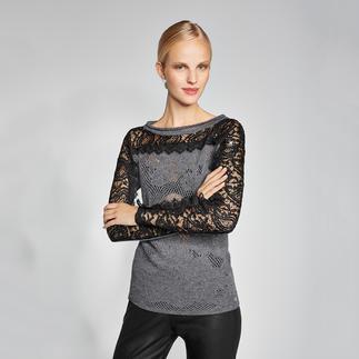 Twin-Set Lady-Sweater Das Federgewicht unter den aktuellen Sweatshirts.