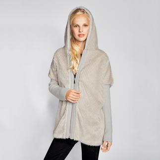 Pinko Fake-Fur-Parka Lässige Parka-Form, bei Pinko außergewöhnlich elegant. Durch Fake-Fur und die Farbe Offwhite.