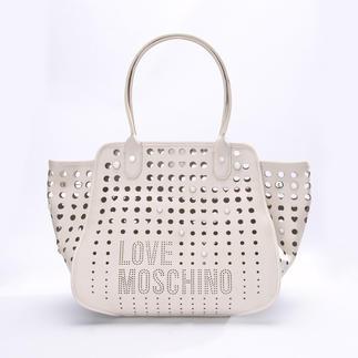 Love Moschino Statement-Bag Richtige Form. Wichtige Farbe. Unverkennbares Logo-Dessin. (Und für eine Designertasche erfreulich günstig.)
