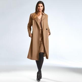 Strenesse Camel-Coat Camel-Coat de Luxe: Loro Piana-Tuch plus Strenesse-Design. Für weniger als 1.000,– Euro.