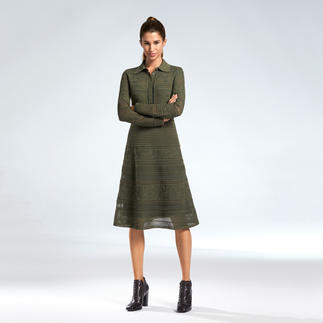 M Missoni Military-Kleid So feminin und elegant interpretiert M Missoni Military-Grün.
