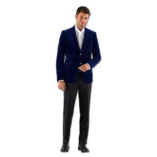 Versace Collection Samt-Sakko Trend-Stoff Samt: Bei Versace maskulin matt und in gedeckter Farbe – gültig für weit mehr als eine Saison.