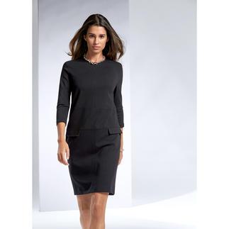 Les Copains Kleid Modisch jetzt genau richtig und viele weitere Jahre ein treuer Begleiter: Das kleine Schwarze von Les Copains.