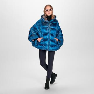 Aigle Lightweight-Stepp-Poncho Aigles Poncho-Variante ist angesagtes It-Piece und alltagstaugliche Outdoor-Jacke in einem.