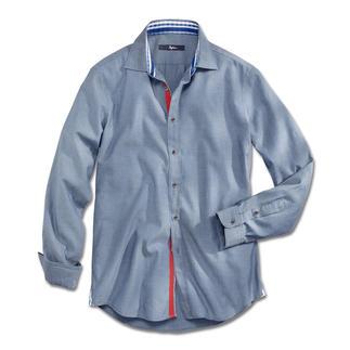 Das Jeanshemd des Gentleman. Perfekt in der Freizeit und sogar im Business.