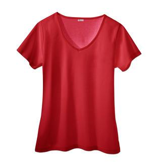 Das Sunselect®-Shirt: Sieht gut aus, fühlt sich gut an und wirkt wie eine gute Sonnencreme. Blockt den Großteil der schädlichen UVB-Strahlen ab, lässt aber die bräunenden UVA-Strahlen durch.