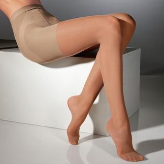 Die Shape-Strumpfhose von Elbeo, der ältesten Strumpfmarke der Welt. Bauch, Beine, Po in Bestform. Formendes 2-Zonen-Höschenteil für einen flacheren Bauch.