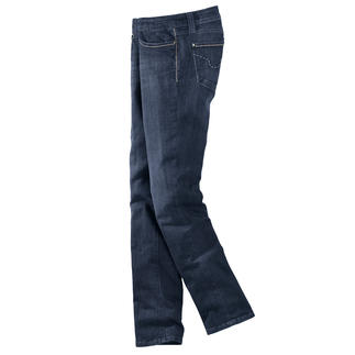 S.O.S. Jeans T400® Keine Knitter. Keine Sitzfalten. Und immer gepflegt. Die hochelastische T400®-Faser macht's möglich.