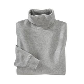Der Rolli aus echter, peruanischer Pima-Cotton. Farb- und formtreu, mit edlem Glanz: kein Vergleich zu üblicher Baumwolle.