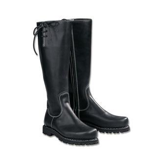 Der Haferl-Stiefel von Schwangau. Traditionell zwiegenäht. Viel eleganter als andere wetterfeste Stiefel. Fast unverändert seit 1803. Aber mit neuer, leichter Vibram®-Gummisohle.