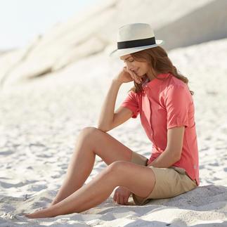 Das Funktions-Shirt aus Baumwolle. Von Aigle, Frankreich. Weicher, natürlicher Griff. Angenehm trockenes Klima. Schutz vor Sonnenstrahlung durch UV-Control®.