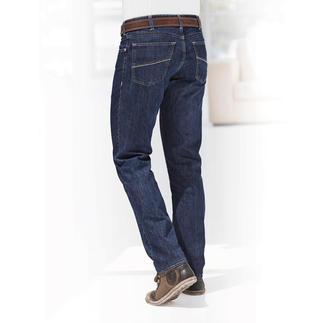 Die edle Variante der sommerleichten Luxus-Jeans. Von MMX Germany. Veredelt mit feinster Seide. Glatter. Weicher. Luftiger. Salonfähiger. Anschmiegsamer.