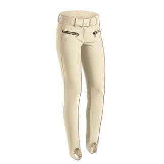 Stylische Sportswear und sportliche Streetwear. Die selten schlanke Ski- und Stiefel-Hose aus Softshell.