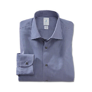 Das Edel-Twill-Hemd - aus seltener GIZA 87-Baumwolle. Unvergleichlich weich, geschmeidig glatt und seidig glänzend.