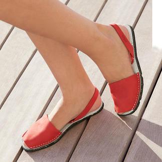 Die traditionelle Menorca-Sandale: Handgefertigt. Und in den heißesten Sommern bewährt. Original Avarcas von RIA.