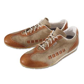 Ein echter Künzli: Swissmade Edel-Sneakers seit 1927. Puristische Form. Feinstes Leder. Dämpfende Sohle.