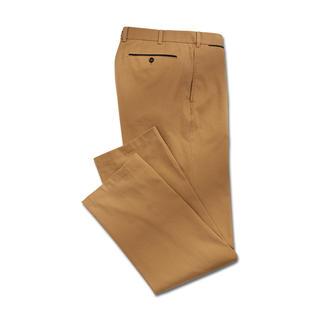 Die Canvas-Hose aus extra sanfter, extra starker Supima®-Baumwolle. Von Hiltl/Deutschland. Wunderbar weich. Unvermindert strapazierfähig.