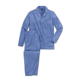 Der Baumwoll-Pyjama ohne lästiges Bügeln. Einfach waschen, trocknen und direkt wieder tragen. Von Seidensticker.
