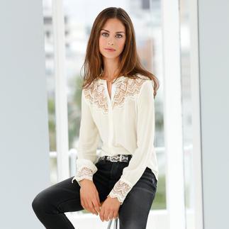 Die Bluse mit dem Komfort eines T-Shirts. Skandinavisches Design von Rosemunde Copenhagen: Bequem. Unkompliziert. Elegant.