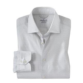 Das Hemd im modischen Krawattenmuster, selten filigran und monochrom. Interessanter als uni. Dezenter als die meisten Dessins.  Von van Laack, seit 1881.