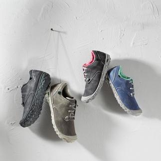 Die Ultraleicht-Sneakers aus atmungsaktivem Canvas-Gewebe. Superbequem. Robust. Wasser- und schmutzabweisend.