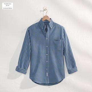 Das karierte BDO-Shirt No. 40 - aus luftig feinem Oxford-Gewebe. Limitierte Edition. Bequem großzügig gefertigt.