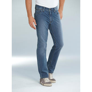 Die perfekt sitzende Jeans für fast jeden Figurtyp. Von Deutschlands Hosen-Spezialist Eurex by Brax.