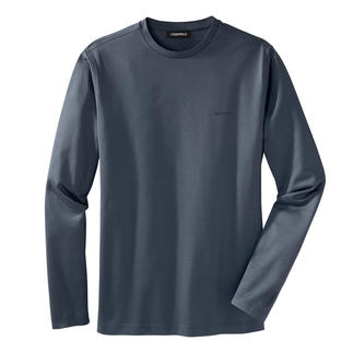 Das Longsleeve von Lagerfeld: aus merzerisierter Baumwolle - nobel schimmernd und puristisch schlank. Das perfekte Basic unter den jetzt angesagten schlanken Slim-Fit-Sakkos.