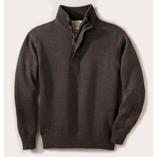 Der ideale Pullover für drinnen und draußen. Strickkunst von Alan Paine/England, seit 1907. Strickkunst von Alan Paine/England, seit 1907.