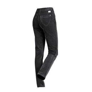 Die wohl bequemste Five-Pocket-Hose: Die Zauberbund-Hose von RAPHAELA-BY-BRAX. Nicht sichtbare Bundweiten-Reserve plus Power-Stretch-Effekt. Aus weichem Feincord.