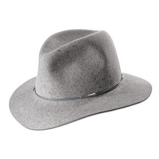 Der Filz-Fedora vom Kult-Label Hat Attack, New York. Flexibel. Strapazierfähig. Und auf natürliche Art wasserabweisend.
