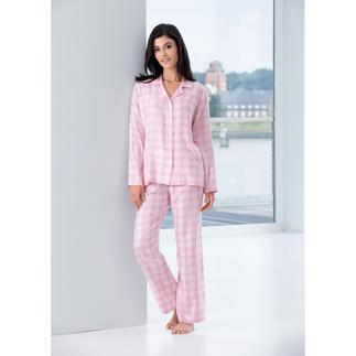 Der Pyjama für den ersten guten Eindruck am Morgen. Exklusiver Stoff aus Portugal. Gefertigt in Deutschland von NOVILA.