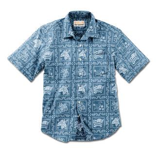 Das Hemd von Reyn Spooner. Hergestellt auf Hawaii. Ihr Hawaii-Hemd sollten Sie auf Hawaii kaufen. Oder ...