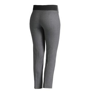 Die Flanell-Stretchhose für unzählige Trend-Styles: aktuelle, schmale Form in verkürzter Länge. Von Les Copains.