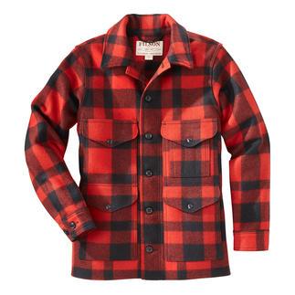 Die original Holzfäller-Jacke der U.S.-Forstbetriebe. Von C.C. Filson. Natürlich wärmend. Wasserabweisend. Unverwüstlich. Aus 100 % Schurwolle.